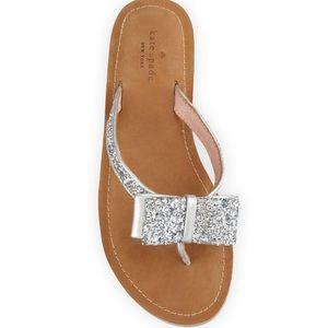 435275456073 kate spade Shoes - 🚨SALE Kate Spade Icarda Glitter Bow Flip Flops
